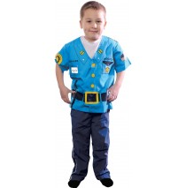 My First Career Gear - Police Toddler Costume - Toddler 3/5