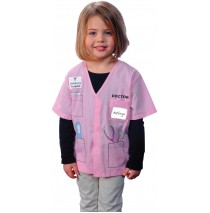 My First Career Gear - Doctor (Pink) Toddler Costume - Toddler 3/5