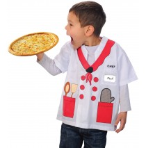 My First Career Gear - Chef Toddler Costume - Toddler 3/5