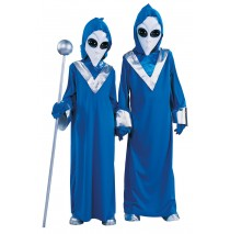 Complete Alien Child Costume - Medium (8/10)