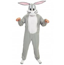 Looney Tunes - Bugs Bunny Adult Costume - One-Size (Standard)