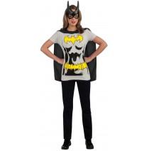Batgirl T-Shirt Adult Costume Kit - Small