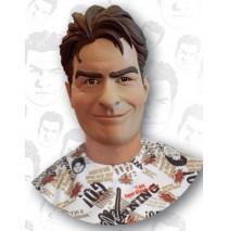 Charlie Sheen Vinyl Mask (Adult) - One-Size