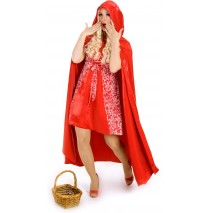 Princess Red Riding Hood Cape (Adult) - One-Size (Standard)