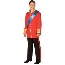 Royal Wedding Uniform Adult Costume - Large