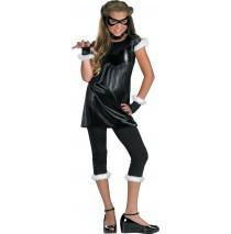 The Amazing Spider-man - Black Cat Girl Pre-Teen / Teen Costume - Teen (7-9)