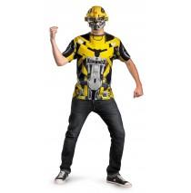 Transformers 3 Dark Of The Moon Movie - Bumblebee Adult Plus Costume Kit - Plus (50-52)