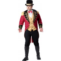 Ringmaster Adult Plus Costume - 2XL