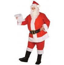 Budget Complete Santa Suit Adult Plus Costume - PLUS