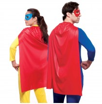 Red Superhero Cape - One-Size