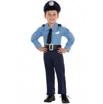 Police Officer Toddler Costume - 2T-4T
