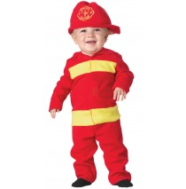 Fire Fighter Infant Costume - 6-12 Months