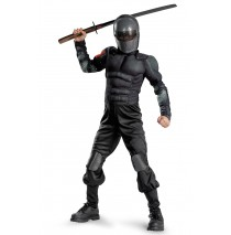 G.I. Joe Retaliation Snake Eyes Classic Muscle Chest Child Costume - 7/8