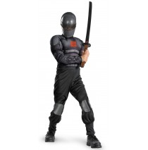 G.I. Joe Retaliation Snake Eyes Light up Deluxe Muscle Chest Child Costume - 4/6