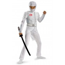 G.I. Joe Retaliation Storm Shadow Light Up Deluxe Muscle Chest Child Costume - 4/6