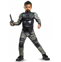 G.I. Joe Retaliation Roadblock Classic Muscle Child Costume - 7/8