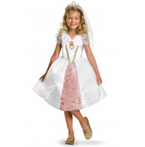Disney Tangled Rapunzel Wedding Gown Child Costume - 7/8