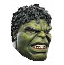 The Avengers Deluxe Hulk Mask (Adult) - One-Size