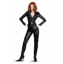 The Avengers Black Widow Deluxe Adult Plus Costume - Plus (18-20)