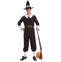 Pilgrim Man Adult Costume - Standard