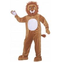 Leo the Lion Plush Adult Costume - Standard
