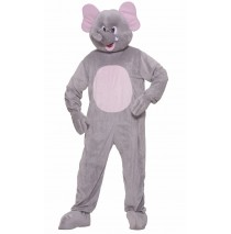 Elephant Plush Adult Costume - Standard