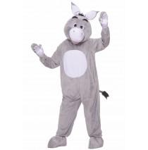 Donkey Plush Adult Costume - Standard