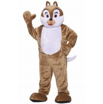 Chipmunk Deluxe Mascot Adult Costume - Standard