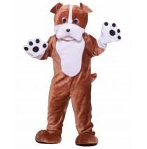 Bull Dog Deluxe Mascot Adult Costume - Standard