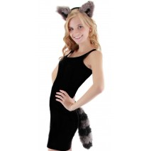 Raccoon Child Accessory Kit - One-Size