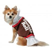 Tootsie Roll Dog Costume - Medium