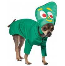 Gumby Pet Costume - X-Small