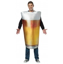 Pint Glass Adult Costume - One-Size (Standard)