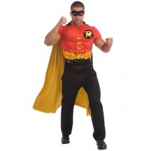 DC Comics Robin Muscle Chest Adult Costume Kit - Standard