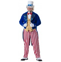 Uncle Sam Elite Collection Adult Plus Costume - XX-Large