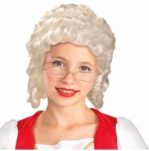 Colonial Girl Child Wig - One-Size
