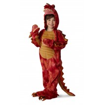 Hydra the Three-Headed Dragon Child Costume - Small (6)