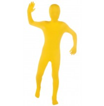 Yellow Skin Suit Child Costume - Large (12-14)