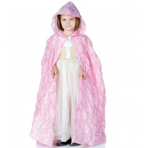 Pink Pintuck Cape (Child) - One-Size