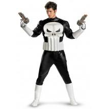 Punisher Adult Plus Costume - XX-Large