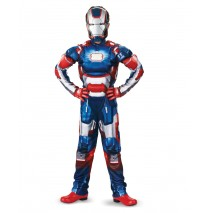 Iron Man 3 Patriot Classic Muscle Costume - Small (4-6)