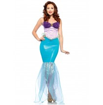 Disney Princess Undersea Ariel Adult Costume - Small