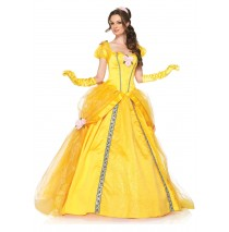 Disney Princesses Enchanting Belle Adult Costume - Small