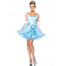 Disney Princesses Glass Slipper Cinderella Adult Costume - Medium