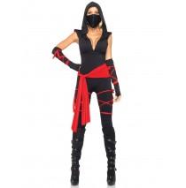 Deadly Ninja Adult Costume - Small