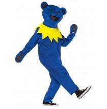 Grateful Dead Blue Dancing Bear Adult Costume - Adult