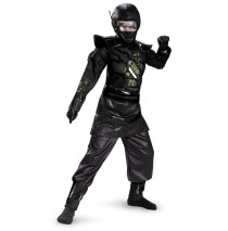 Deluxe Ninja Child Costume - Medium (7-8)