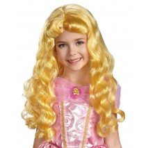 Disney Kids Aurora Wig - One-size