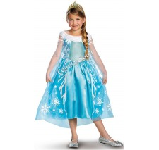 Disney Frozen Deluxe Elsa Toddler/Child Costume - Large (10-12)