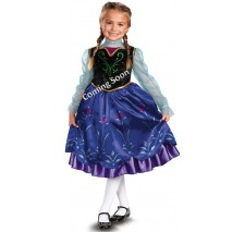 Disney Frozen Deluxe Anna Toddler/Child Costume - Small (4-6)